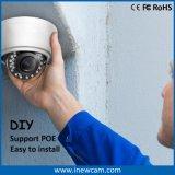 Resistente al agua de enfoque automático de 4MP cámara IP Domo Poe