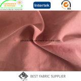 Tessuto di nylon del rivestimento del cappotto del tessuto della pelle della pesca del muschio della fibra del poliestere 7% di 93% micro