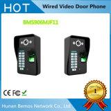 9inch 900tvl couleur vidéo porte interphone vidéo vidéo imperméable à la nuit vision 8g carte TF