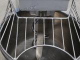 Machine de genouillère en spirale de plancher à plat en acier inoxydable