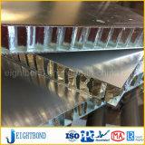 Panneau de nid d'abeilles d'aluminium de l'extérieur 25mm dans le fournisseur de la Chine