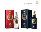 Personnaliser les caisses d'emballage de papier de fantaisie de première qualité de luxe pour le vin