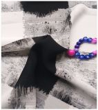 100% Polyester Textilgewebe, Crepe Chiffon, Plaid Druck