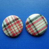Изготовленный на заказ круглая кнопка олова, Pin отворотом вышивки (GZHY-TB-011)