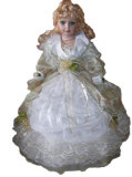 E1Lifelike Porzellan-Regenschirm-Puppen (DYSW15) 4 energiesparende Birnen der Lampen-2u (hf-2u)