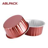 Taza de la torta del papel de aluminio de la alta calidad para la hornada