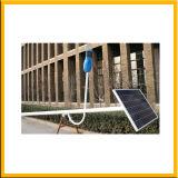A iluminação LED movidos a energia solar