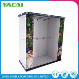 Speicher-Papierpappausstellung-Standplatz-Fußboden-Einzelverkaufs-Bildschirmanzeige-Zahnstange