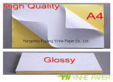 съемная липкая бумага 80GSM для печатание ярлыка