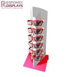 Mesa de Madera y Metal patrones de Moda Gafas de sol de la pantalla stand con Logo