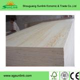 Madera contrachapada del pino de la madera contrachapada para los muebles y la construcción