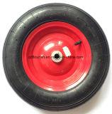 Rotella di gomma gonfiabile pneumatica agricola per il carrello
