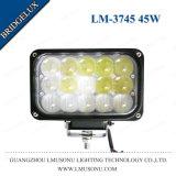 """linterna de la motocicleta LED de 6 """" 45W Bridgelux con la lente convexa"""