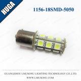 het Achterlicht van de 1156 LEIDENE 18SMD 5050 Lamp van de Richtingaanwijzer
