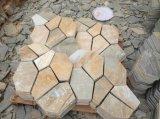 옥외를 위한 보도 Flagstones 슬레이트 도와를 포장하는 아름다운 고품질