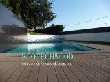 Decking quente das vendas WPC para a piscina com função da resistência UV, etc. deDerrapagem