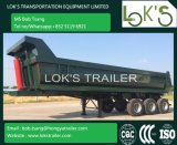 24cbm 3axles - U datilografa o reboque do Tipper em Vietnam