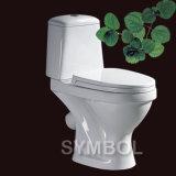 WC фарфора ванной комнаты двухкусочный (SS-TT2514)
