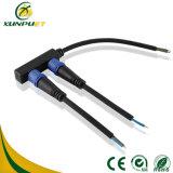 Línea de goma conector terminal del cable del Pin para la lámpara de calle del LED