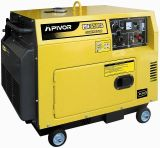 Générateur diesel silencieux (PDE6500S)