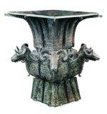 Antike nachgemachte Bronzec$vier-ziege Zun