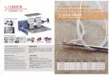 2017 Nuevo estilo de las máquinas de bordar la tapa con la certificación CE