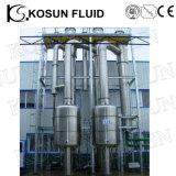 Aço inoxidável vários efeitos de vácuo de amônia preço do Evaporador