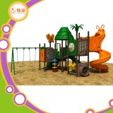 2017 New Design Outdoor Playground Slide with Swing for Kids