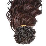 Фигурные Реми с плоским наконечником Pre-Bonded удлинитель волос