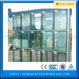 Baixo-e vidro isolado de 5+12A+5mm para a estufa, Windows, parede de cortina