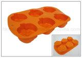 Moulage de gâteau de silicones formé par potiron (RS06)