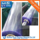 Hoja plástica fina del PVC del claro rígido para el rectángulo plegable