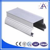 Perfil de extrusão de alumínio embutido fino para quadro de LED