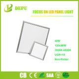 40W Lichte Vierkante LEIDENE 600X600 van de LEIDENE het Vlakke Muur van het Comité Licht van het Comité