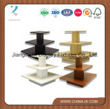 3 en bois Tableau rectangulaire à gradins de l'étalage pour des mémoires de vêtement