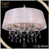 modern pendant lighting for crystal fabric decorative chandelier