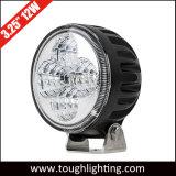 3 pulgadas de 12W Foco circular LED de inundación de la luz de trabajo para los tractores camiones
