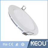 Temperatura de color ajustable/LED regulable Downlight empotrado