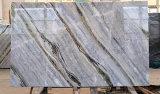 Mattonelle di marmo Polished della parete della stanza da bagno del pavimento della pietra del mosaico del granito del calcare bianco naturale della Cina