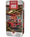 Kleinster 1000 Stück-Zinn-Kasten-Puzzle der Welt
