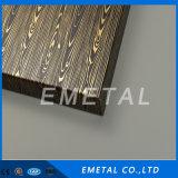 Design entalhado cor decorativa revestimento PVD a folha de aço inoxidável laminado a frio / Placa Cr Inox 201 304 430 316