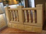 Matériau de construction Baluster/main courante de grès jaune/brames ou des tuiles/laminés