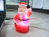 Weihnachtsweihnachten LEDusb-Sankt leuchten Dekoration-Geschenk-förderndem Licht