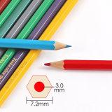 7.0 '' 18 Reeks van het Potlood van de Kleur van Kleuren de Houten Hexagonale/van het Potlood van de Kleur