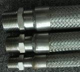Capezzolo filettato del tubo flessibile dell'acciaio inossidabile