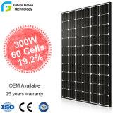 300W高性能60の太陽電池のモノラル多太陽エネルギーのエネルギー・システムPVの太陽電池パネル