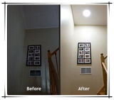 Day and Night UseのためのPower Adaptorの10W Round Type Solar LED Ceiling Light