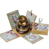 Contenitore di regalo miniatura della Camera di bambola di Cuteroom DIY Y-005