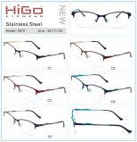 Het semi-randloze Optische Frame van het Metaal van Higo van Mannen en van Vrouwen Best-Selling