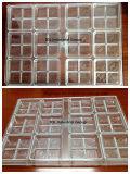Molde de Chocolate transparente para diferentes tamanhos de chocolate
